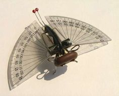28 Found Art Projects - From Insects from Found Objects to Recycled Gadget Guns (CLUSTER)