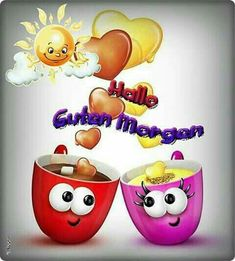 Morgen,Alle schon wach emoticons saludos grupo, amistad y fe Good Morning Good Night, Good Morning Wishes, Good Morning Quotes, Good Day, Weekend Quotes, Greetings Images, Morning Greetings Quotes, Video Games For Kids, Bowser