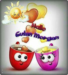 Morgen,Alle schon wach emoticons saludos grupo, amistad y fe