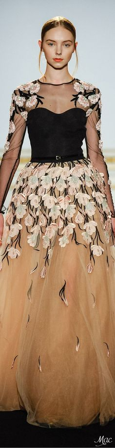 Haute Couture Spring 2015 Dany Atrache Dress Couture, Couture Fashion, Runway Fashion, High Fashion, Women's Fashion, Ellie Saab, Marchesa, Floral Fashion, Fashion Design