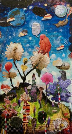 Gavin Lavelle Collages Are Inspired By Irish Culture Irish Culture, Art Journal Inspiration, Art Festival, True Beauty, Make Me Smile, Fiber Art, Collages, Mixed Media, Christian