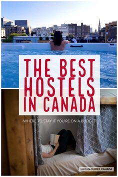 Travelling to Canada? Here are the BEST hostels in Canada – perfect for anyone wanting to save money on accommodations. Ways To Travel, Travel Tips, Travel Pictures, Travel Photos, Canadian Travel, O Canada, Toronto Life, Newfoundland And Labrador, Quebec City