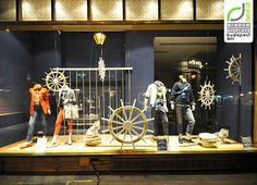 Tommy Hilfiger windows 2013, Budapest visual #merchandising