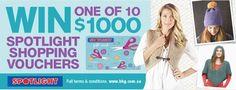 Win 1 of 10 $1,000 Spotlight Vouchers