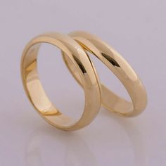Simple Plain Gold RIng #mensaccessoriessimple
