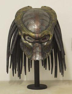 Steampunk Predator helmet is perfect for your Victorian era trophy hunt Predator Costume, Predator Helmet, Alien Vs Predator, Steampunk Costume, Steampunk Fashion, Steampunk Design, Gothic Fashion, Victorian Fashion, Fashion Fashion