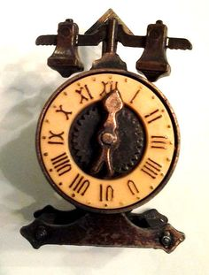 Vintage 1976 Durham Industries Miniature Dollhouse Clock Scale # 471 #DurhamIndustries