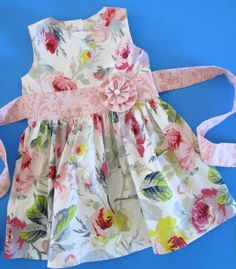 The prettiest party - or any occasion - dress pattern for girls youll find! Classic length bodice, sash that ties in a beautiful bow, and an adorable