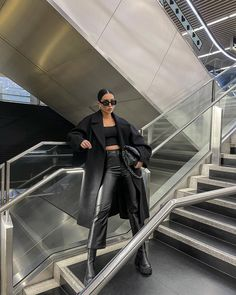 Edgy Outfits, Cute Casual Outfits, Girl Outfits, Fashion Outfits, Womens Fashion, Look Fashion, Winter Fashion, Looks Style, My Style