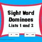 "This Sight Word Domino Game (List 1 & 2) is a great way for your students to practice reading their words without the ""drill and kill""!  My stu..."