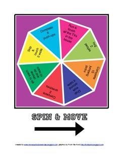Sportunterricht: Spin & Move (Home-Version) - Bildung Ideen & DIY Physical Education Activities, Elementary Physical Education, Elementary Pe, Pe Activities, Health And Physical Education, Fitness Activities, Physical Therapy, Pe Lessons, School Lessons