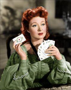 """Miss Eliza Bennet,"" said Miss Bingley, ""despises cards. She is a great reader, and has no pleasure in anything else."" This pic - Greer Garson, colorised Pride and Prejudice uploaded by MissyLynne Classic Hollywood, Old Hollywood, Darcy Pride And Prejudice, Cincinnati Kids, Jane Austen Movies, Greer Garson, Period Dramas, Old Movies, Movies And Tv Shows"