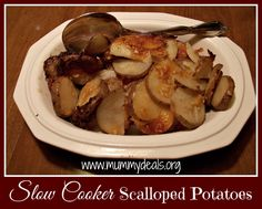 Slow Cooker Scallope