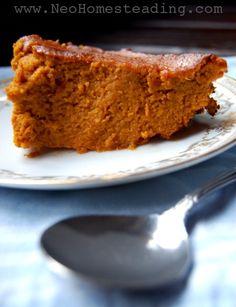 Nutrient Dense &  #whole30 compatable Sweet Potato & Carrot Custard | Neo-Homesteading