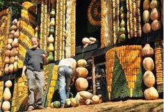 Resultado de imagen para altar de maiz para el papa