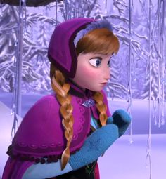 Anna - Frozen (mitts and hat reference)