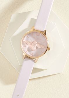 78fdf7ac35a3 ... in a Minute Watch in Blush   Rose Gold - Midi. Your commitment to  quickness is easily and elegantly upheld with this Moulded Bee watch by Olivia  Burton!