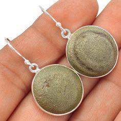 13g Boji Stone 925 Sterling Silver Earrings Jewelry SE123838 | eBay