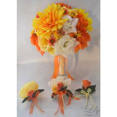 Ivory/Orange/Yellow