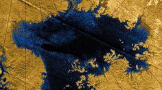 NASA-Sonde Cassini: Großes Meer auf Titan besteht aus purem Methan | heise online