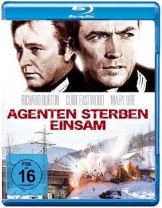 Agenten sterben einsam * IMDb Rating: 7,6 (28.377) * 1968 USA,UK * Darsteller: Richard Burton, Clint Eastwood, Mary Ure,