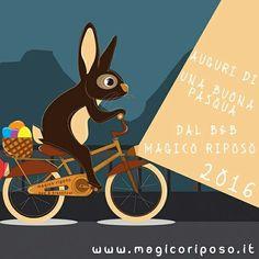 Auguro a tutti voi una serena giornata. AUGURI | B&B Magico Riposo #pasqua #pasqua2016 #famiglia #family #auguri