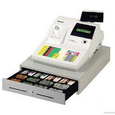 SAM4S ER390M Cash Register with Membrane Keyboard Ivory