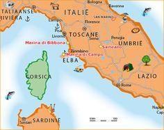 De streek Toscane