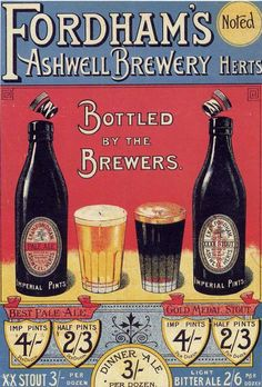 cool vintage everyday: Vintage Advertising Posters of Beer From Around The World...