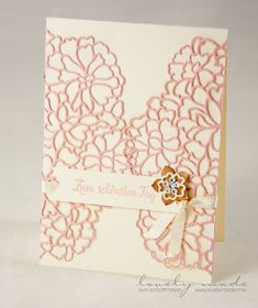 Stampin' Up!, So Detailed, Hochzeit, Wedding