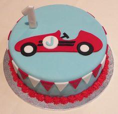 Vintage Race Car Cake | Flickr - Photo Sharing!