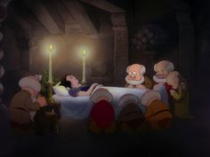 1) Snow White and the Seven Dwarfs (1937) watched 1/27/14 Sleeping Death ~Here is the start of Disney making us cry (or tear up at the very least)