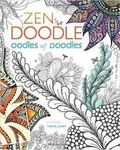 Zen Doodle Oodles Of Doodles Patterns Galore Amazonde Tonia Jenny