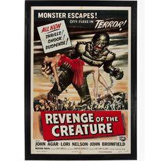 Revenge of the Creature Movie Poster