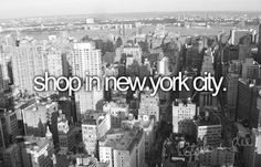 Things to do before you die #NYCLove