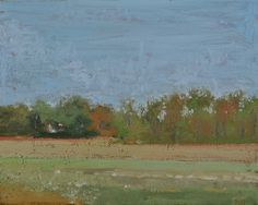 Raymond Berry: View from 623, April 25, 2013, 8 x 10