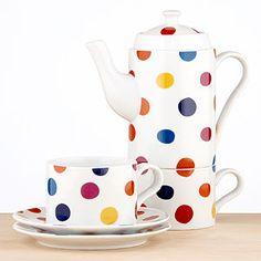 Polka Dot Tea For Two Set