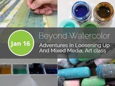 I am rescheduling a Beyond Watercolor workshop on January 16. In this popular workshop, you will learn new techniques like painting with watercolor pencils, painting on yupo paper with a wax resist, adding designs to your paintings and painting from imagination . If you feel you need to scratch your creative itch, this is the workshop for you.  Register online here: http://www.watercolorpainting.ca/store/p66/Beyond_Watercolor%2C_Adventures_In_Loosening_Up_And_Mixed_Media%2C_Art_class.html