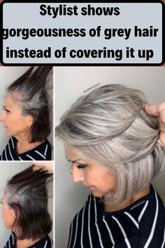 Grey Hair Care, Gray Hair, Amazing Grays, Surfer Girl Style, Surf Style, Surf Girls, Hairline, Bikini Fashion, Beauty Hacks