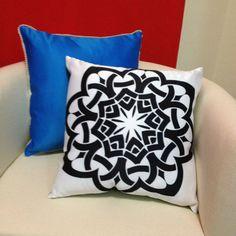 Arabic design cushions