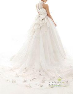 Custom made lace Bridal Gown. BEAUTIFUL train.