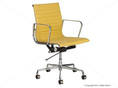 Management Yellow Office Chair Eames Reproduction