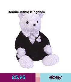 b07cd6d7597 Ty Beanie Babies Ty Beanie Babie Groom The Bridal Teddy Bear - Wedding 7