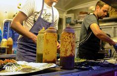 Street food vendor Luardos team @ work: You can find out more about Luardos on cookoutchef.com. #cookoutchef