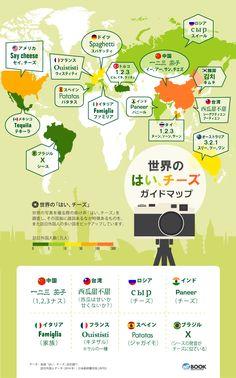 インフォグラフィック:写真撮影前の掛け声は世界共通。国ごとに違う呼び方がおもしろい Information Design, Information Graphics, Text Design, Ad Design, Illustrations, Graphic Illustration, Useless Knowledge, Information Visualization, Graph Design