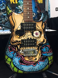custom painted jackson at namm. jA