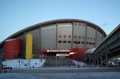 Publicly funding NHL arenas has been proven to provide little economic benefit to the community. So why do cities still agree to fund new arenas? Olympic Hockey, Olympic Games, Hockey World, Sports Stadium, Rio Olympics 2016, Rio 2016, Calgary, Great Britain, Nhl
