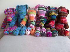 Sock Dogs by Elaine D - LoveCrochet