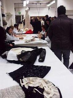 Inside the atelier for Valentino haute couture f/w 2010