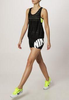 """Nike Performance - PRO 3"""" - Pantacourt de sport - black/white"""